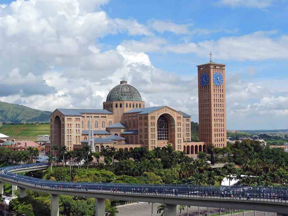 Aparecida chiesa in Brasile