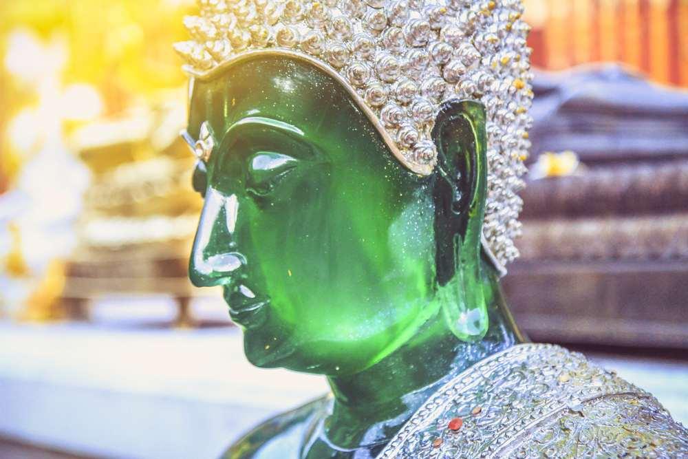 il buddha di smeraldo