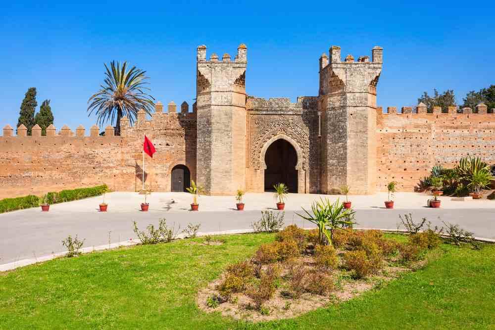 chellah a Rabat