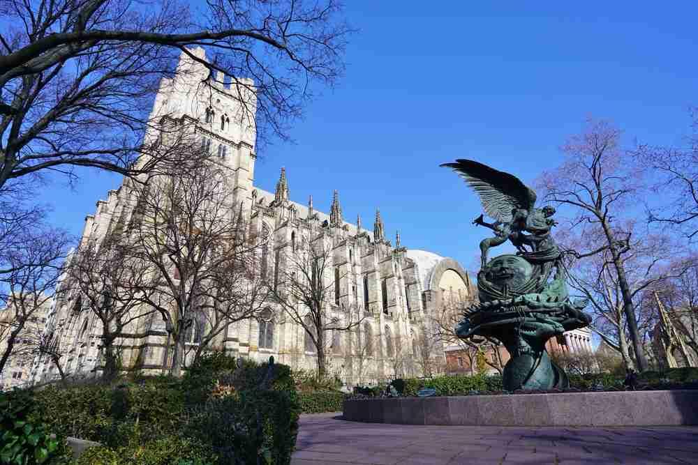 cattedrale di Saint John a New York