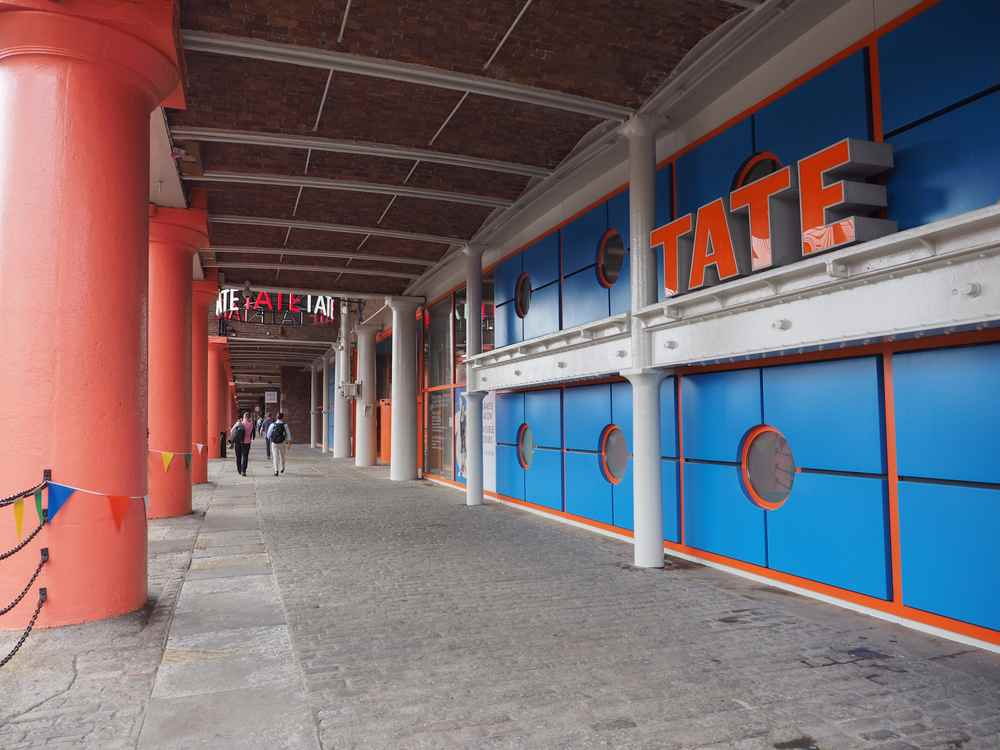 Tate gallery a Liverpool