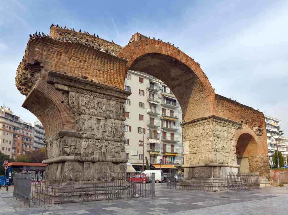 Arco di Galerio a Salonicco