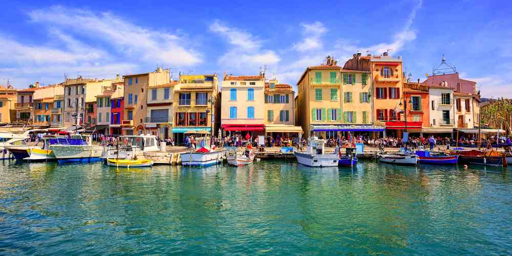 Cassis in Francia
