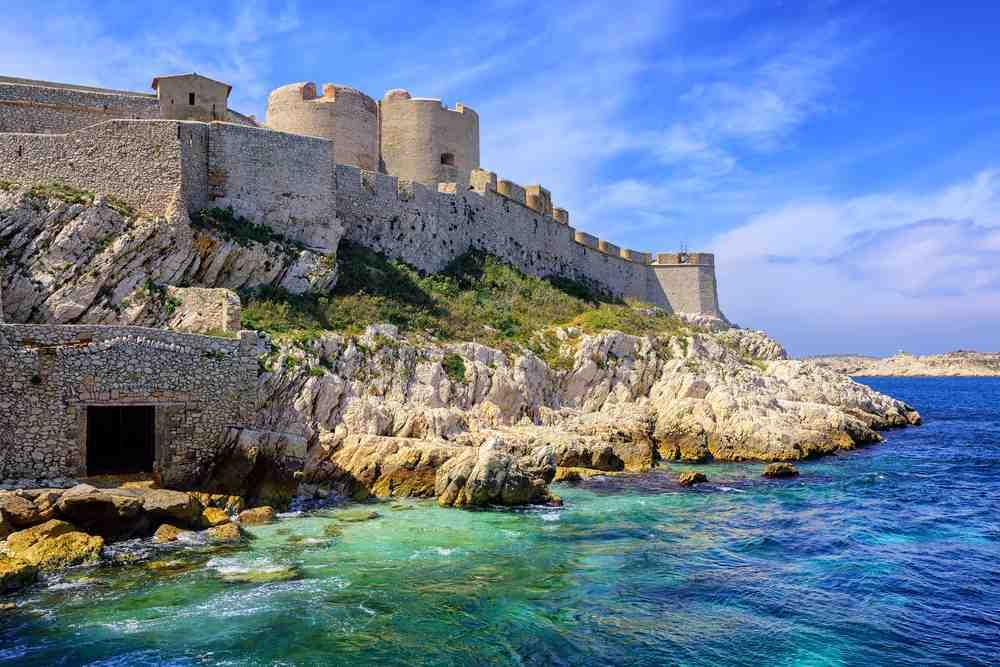 castello a Marsiglia