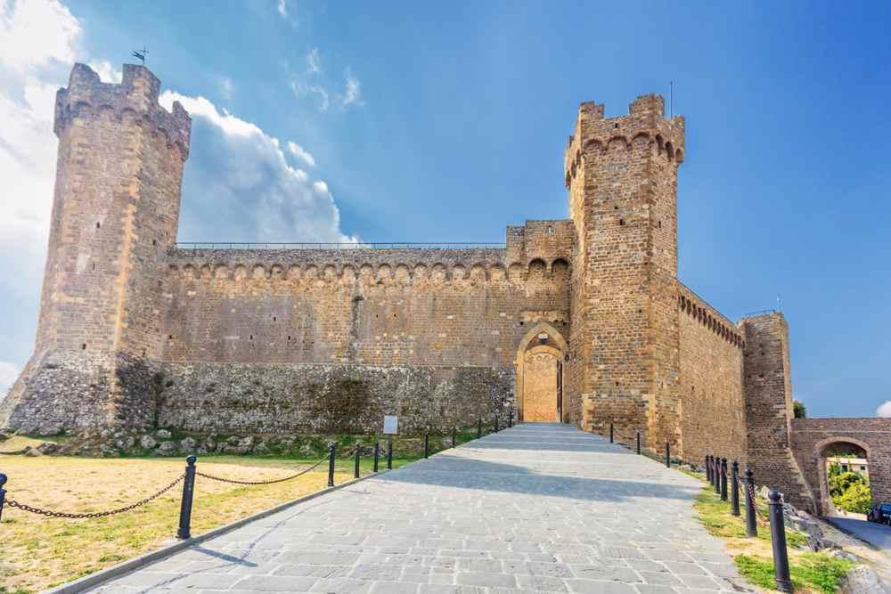 il castello di Montalcino