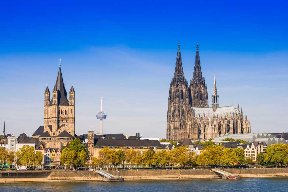 veduta panoramica di Colonia