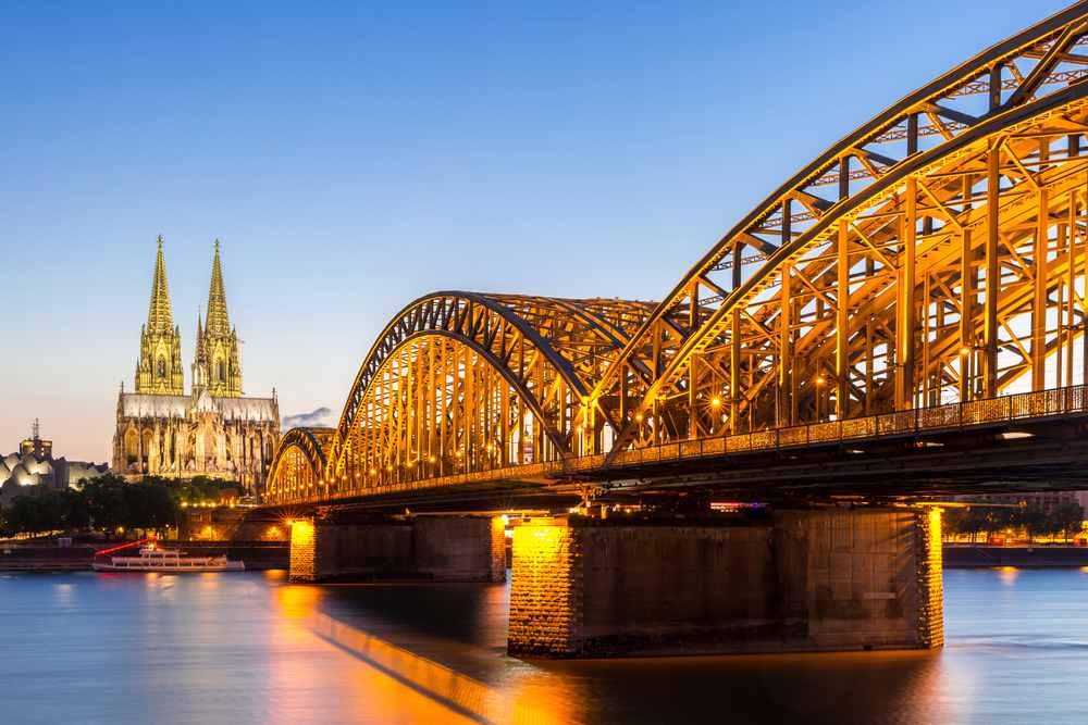 ponte sul Reno a Colonia