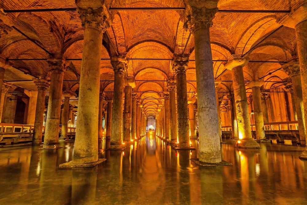 Basilica Cisterna a Istanbul