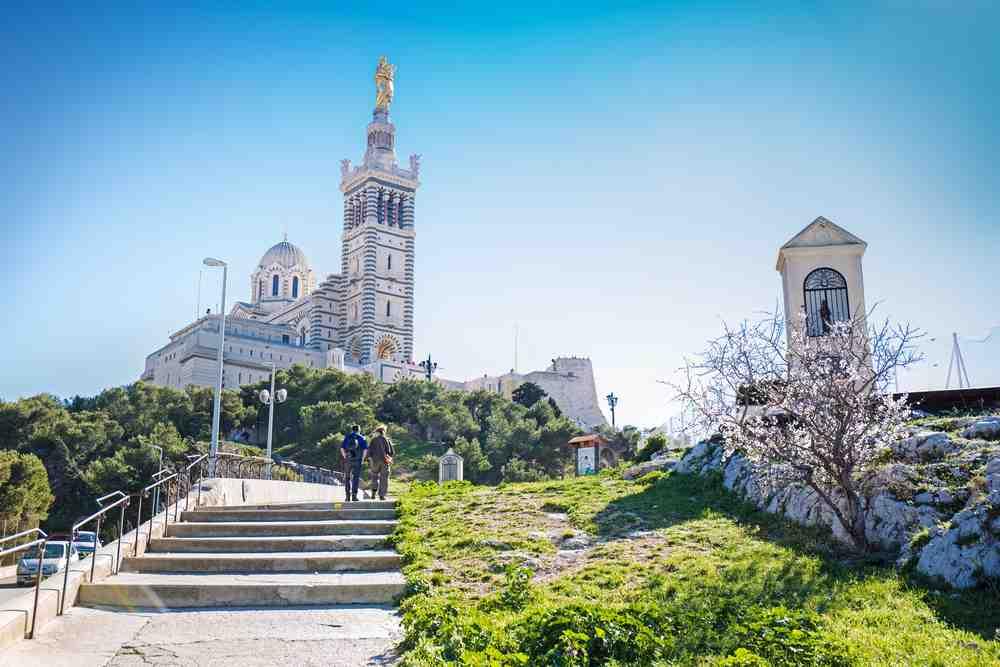 chiesa notre dame de la gard a Marsiglia