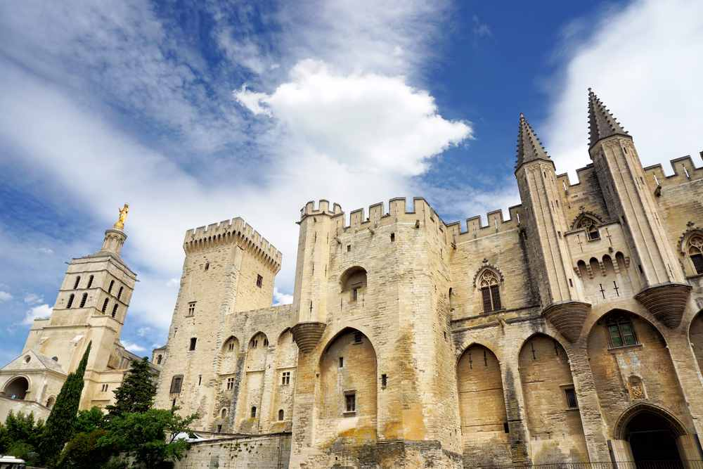 palazzo papi ad Avignone