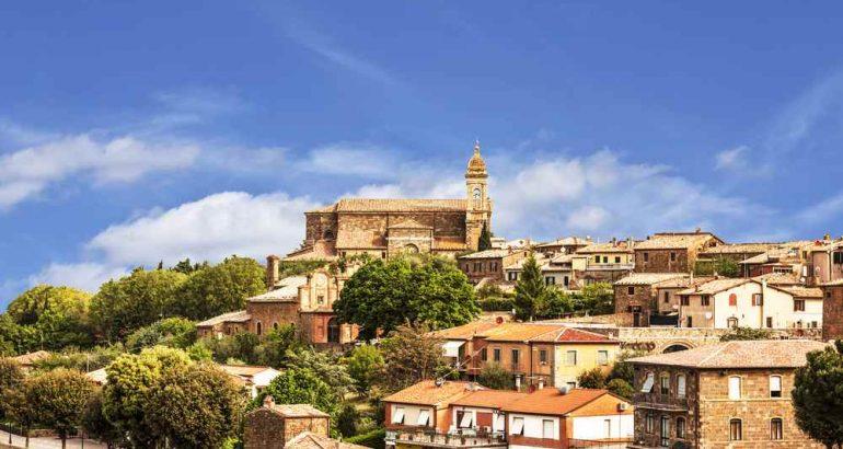 foto panoramica Montalcino