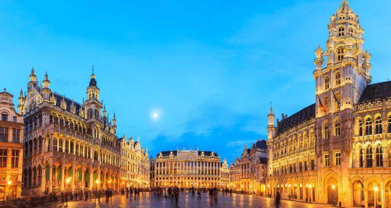 piazza a Bruxelles