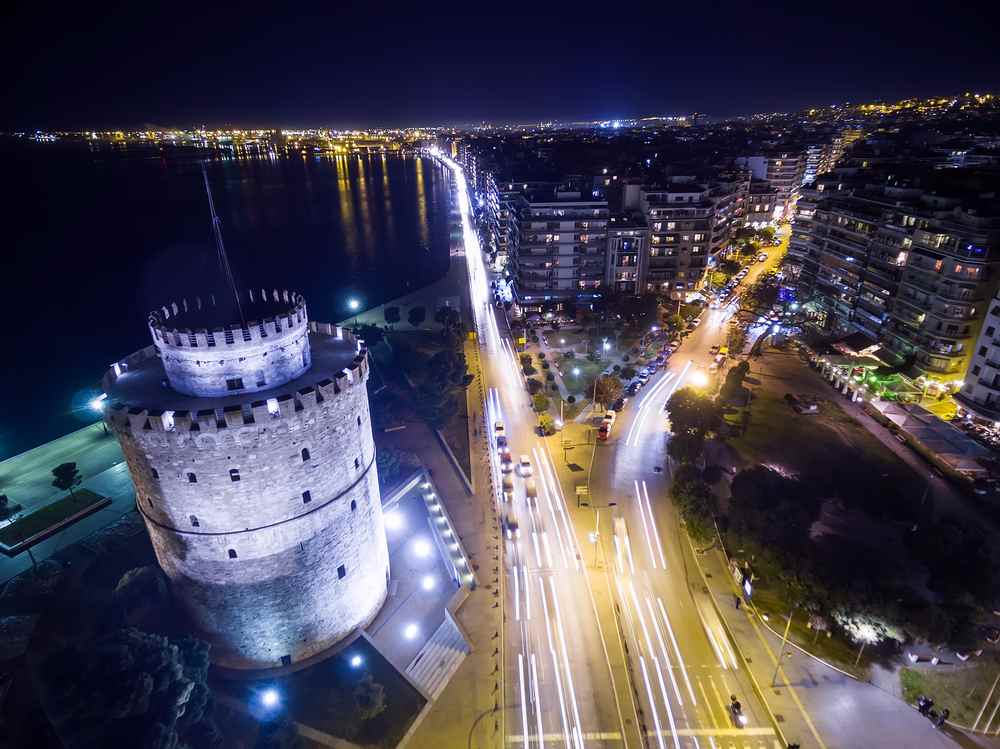 La torre bianca di Salonicco