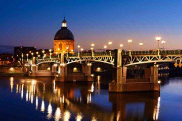 Tolosa, l'incanto della città rosa