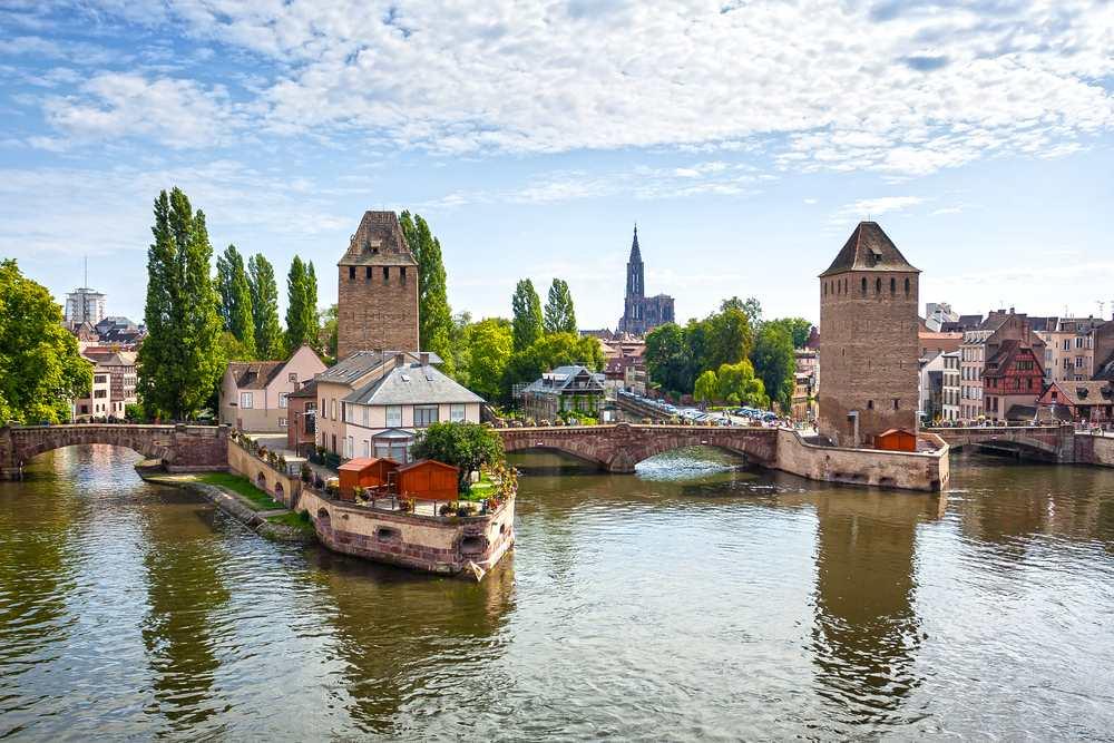 Pont du Corbeau strasburgo