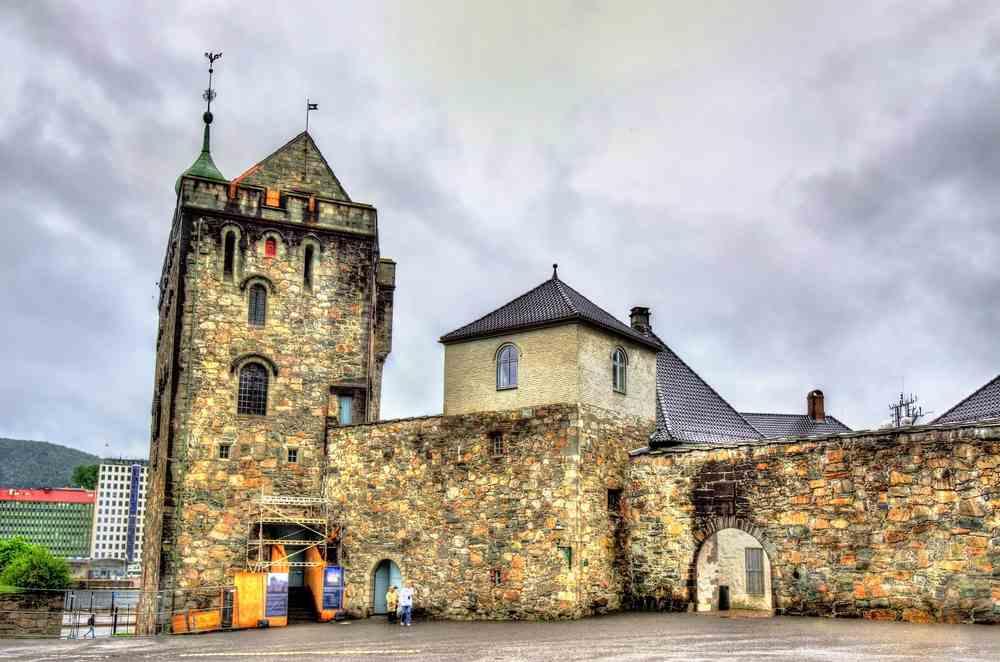 Bergenhus la fortezza