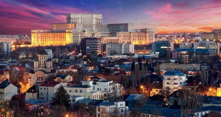panorama di Bucarest