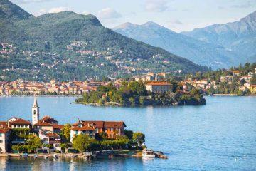 Lago Maggiore: un grande lago al confine con la Svizzera