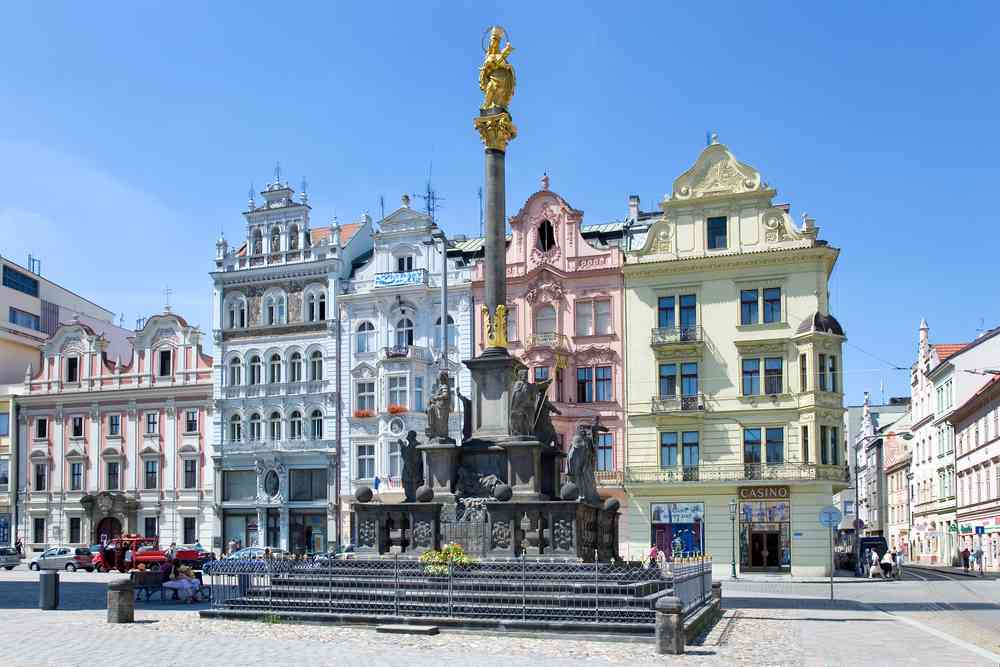 centro storico Plzen
