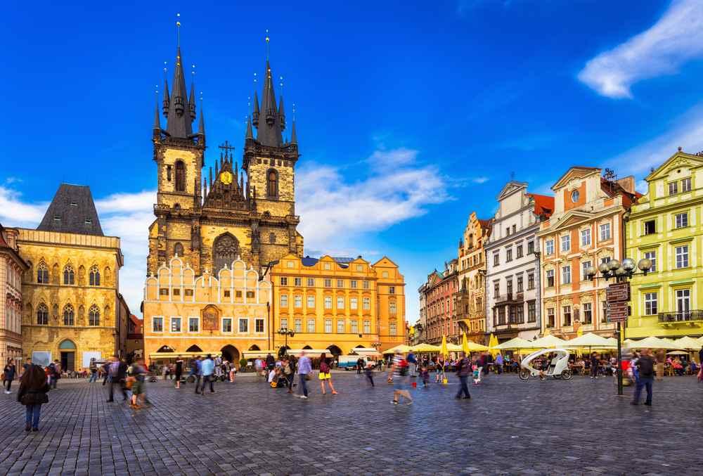 Praga piazza