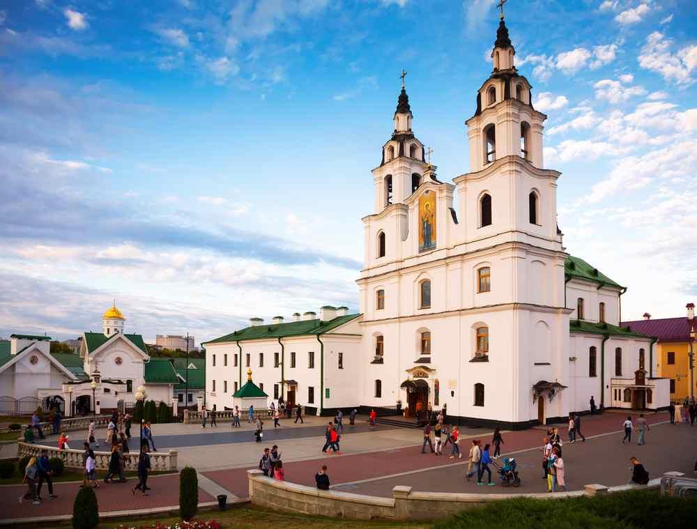 cattedrale ortodossa Minsk
