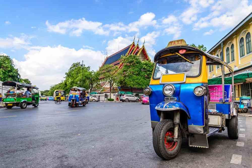 Tuk Tuk Thailandia