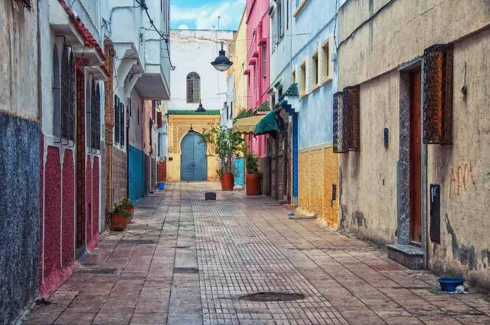 le vie di Rabat