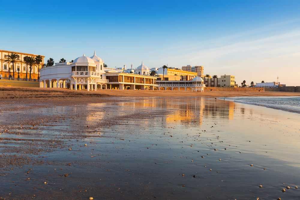 spiaggia caleta a Cadiz