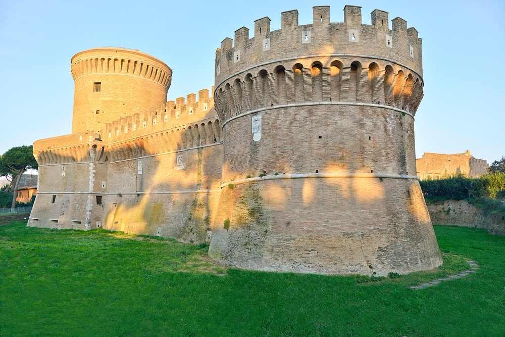 castello di San Giulio ad Ostia