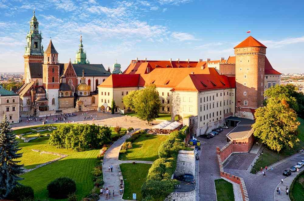 il castello di Wawel a Cracovia