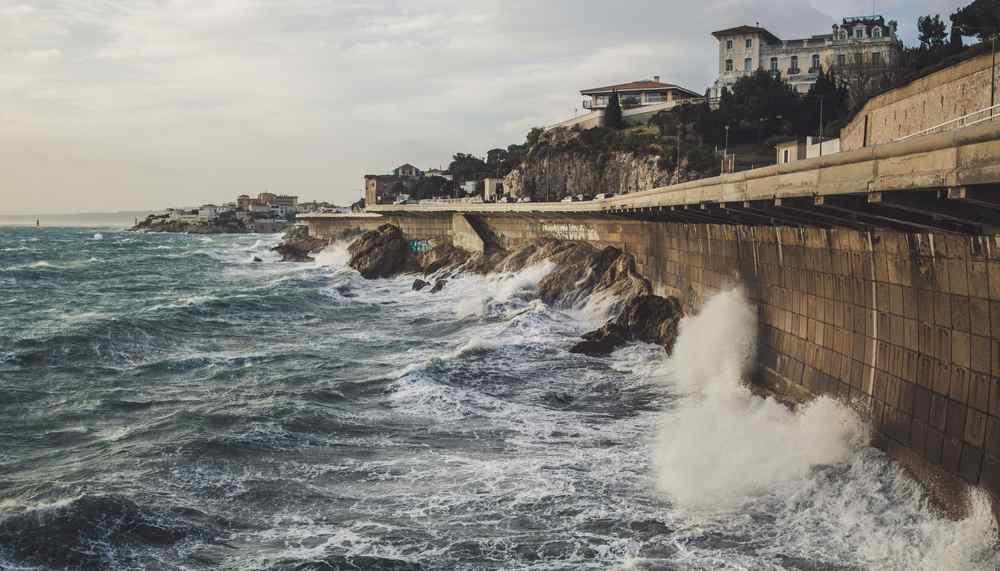 la Corniche a Marsiglia