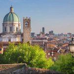 panorama Brescia con duomo