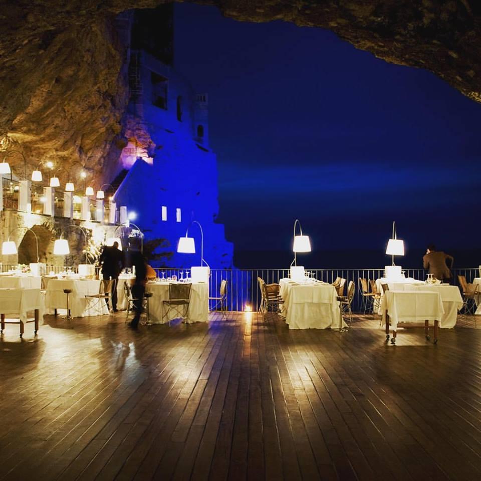 ristorante palazzese nella grotta