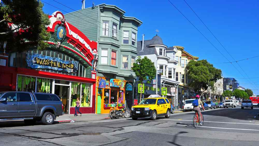 haight street a San Francisco