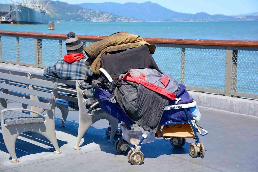 gli homeless di San Francisco