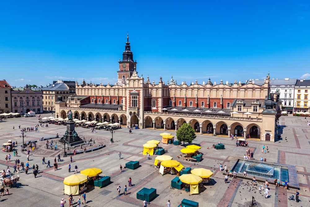 mercato a Cracovia