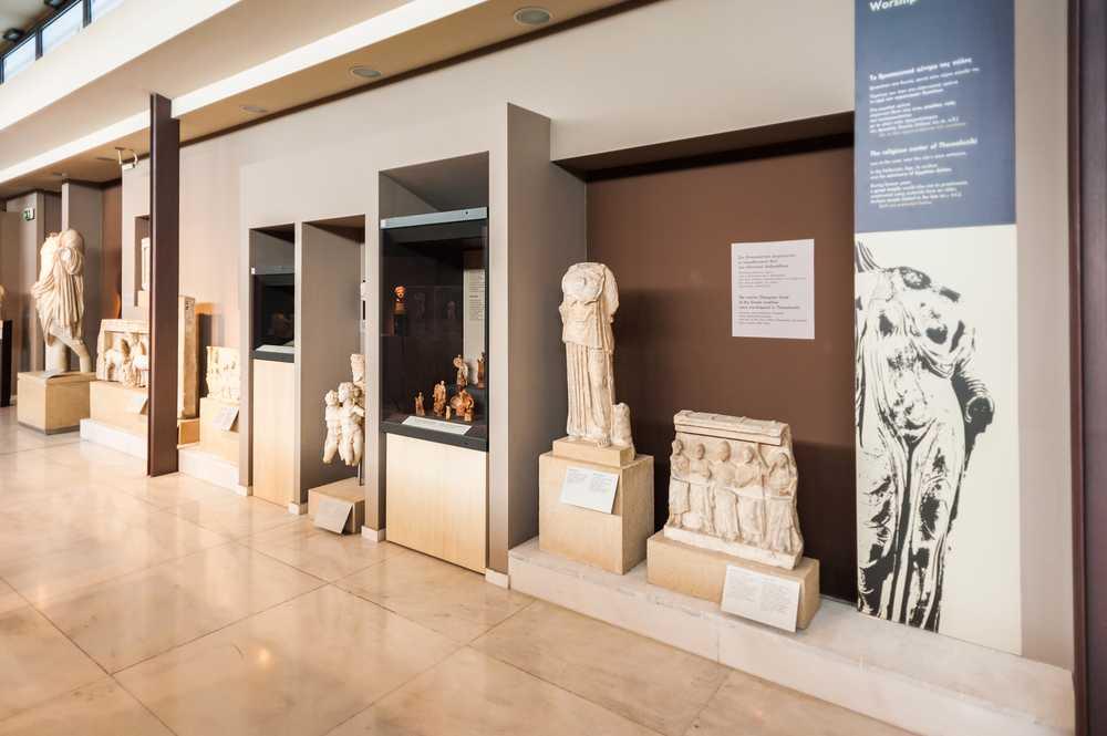 il museo archeologico di Salonicco