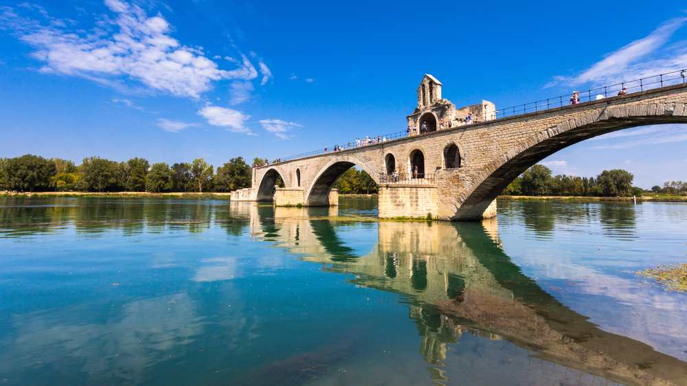 il ponte di Avignone