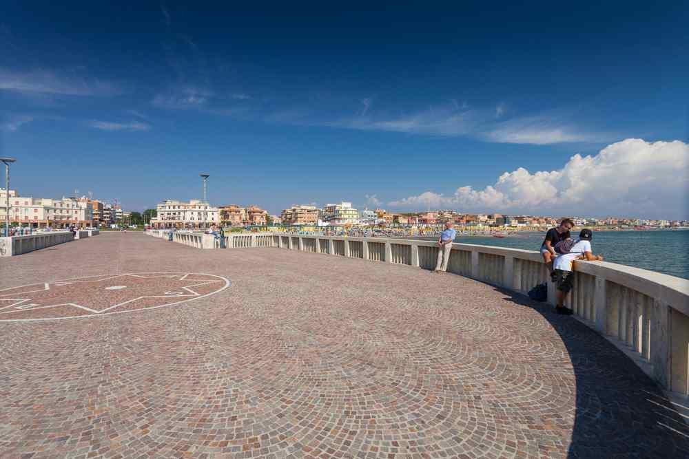 pontile di Ostia