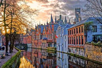Bruges, una città di acqua e storia