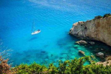 Lefkada, l'isola dalle acque turchesi