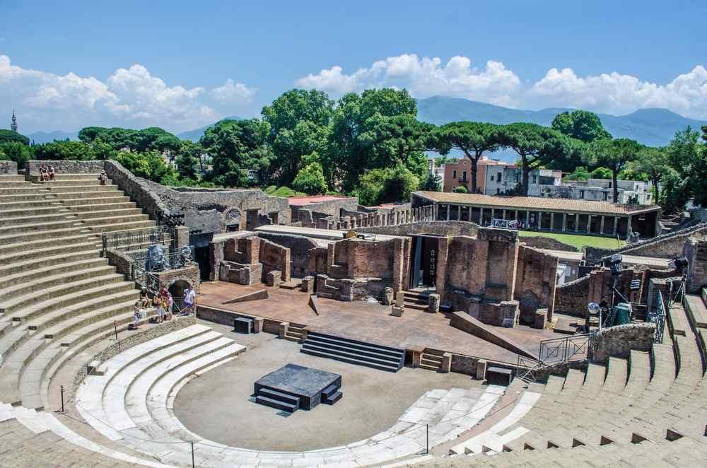 pompei teatro
