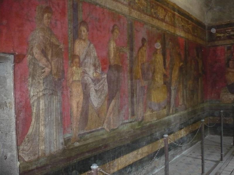 pompei villa misteri