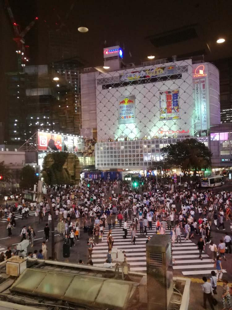 incrocio più affollato Tokyo