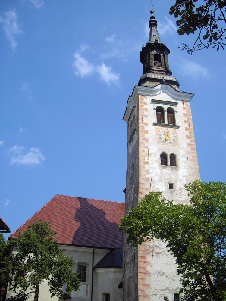 chiesa lago di bled