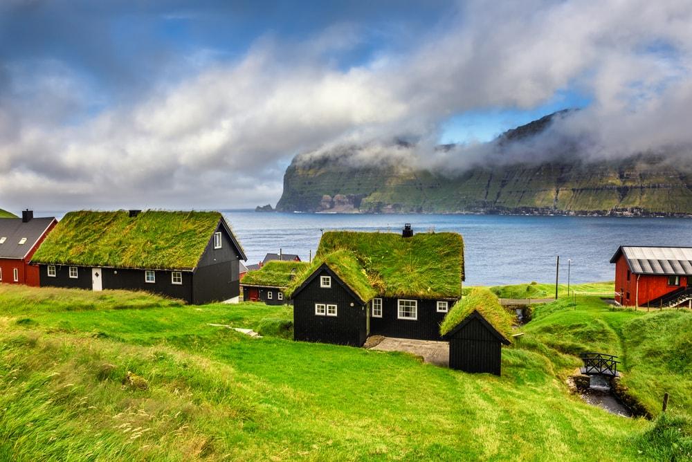 Isole Faroe paesaggio