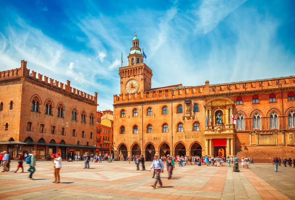 Bologna la piazza
