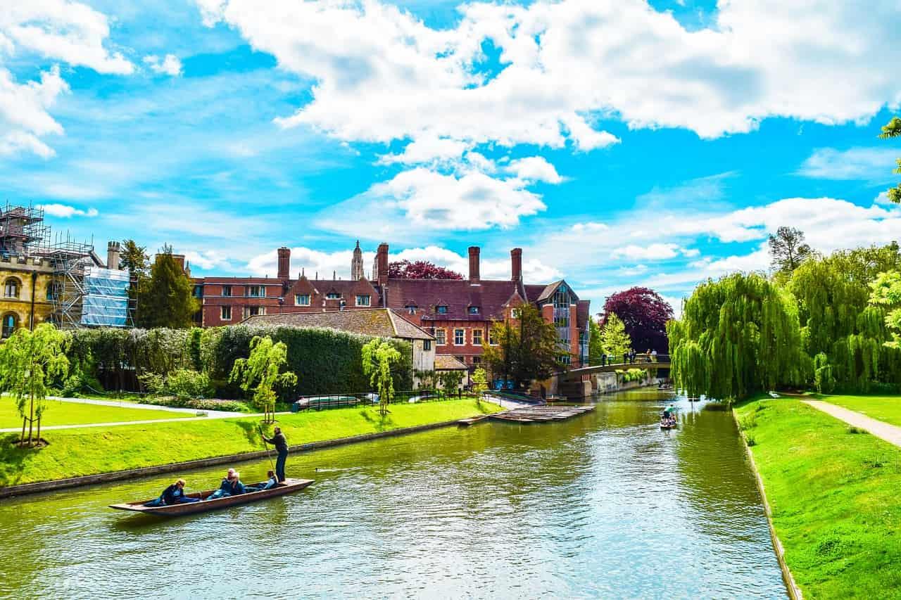 Cambridge fiume