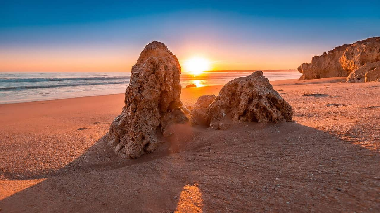 Tramonto ad Algarve