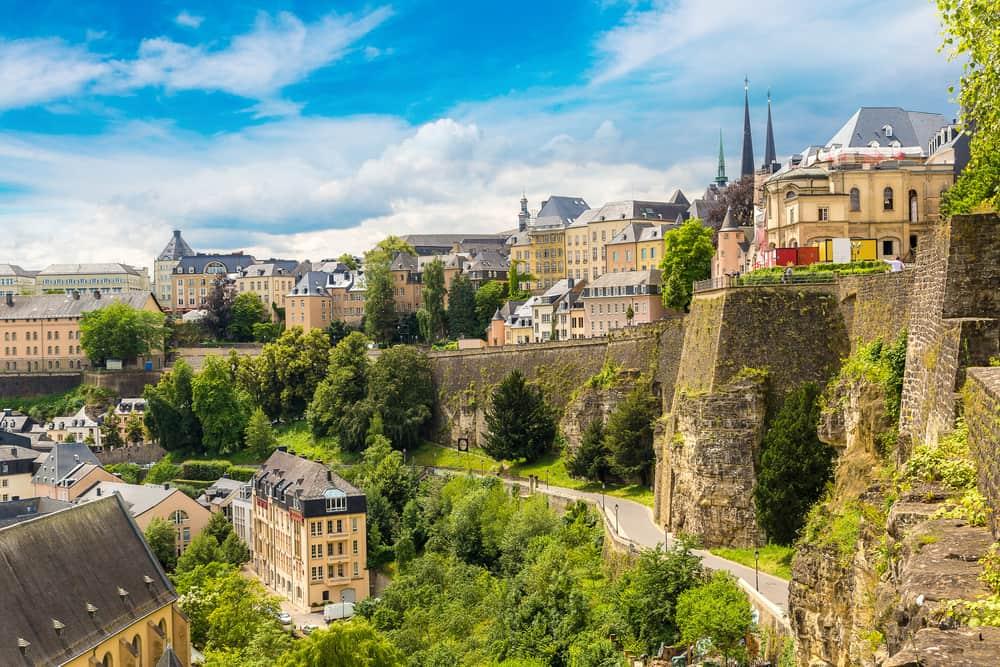 Lussemburgo panorama